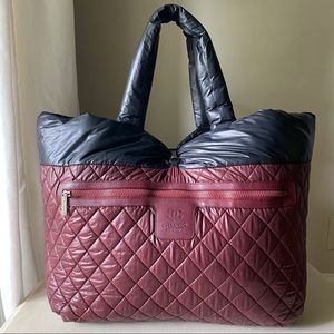 💎💎CHANEL - Coco Cocoon Reversible XL Tote Bag